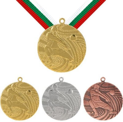 40 mm Volleyball Medaille